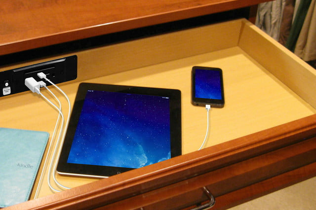 tech to set the mood in bedroom on valentines day docking drawer