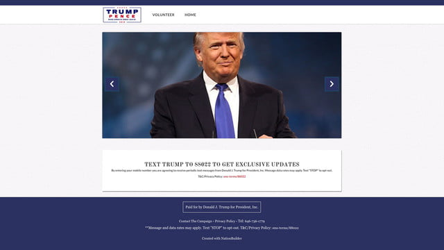 the political software used by trump and brexit campaign donaldtrump nationbuilder 001