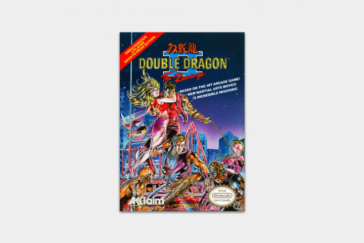 best nes games ever double dragon cover