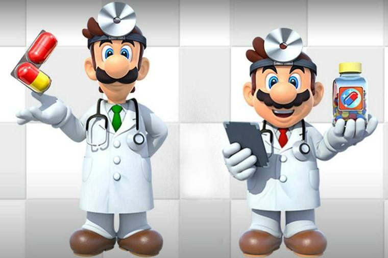Mario's putting his doctorate to use this summer in 'Dr. Mario World'