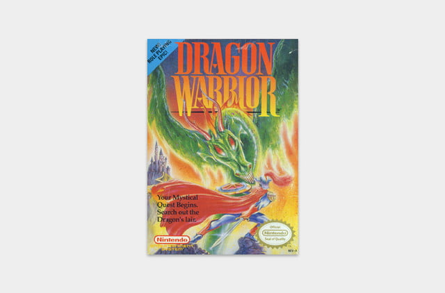best nes games ever dragon warrior cover
