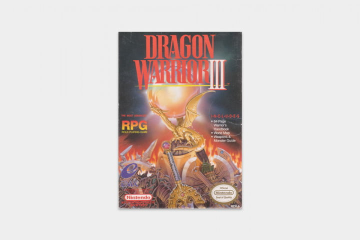 best nes games ever dragon warrior iii cover