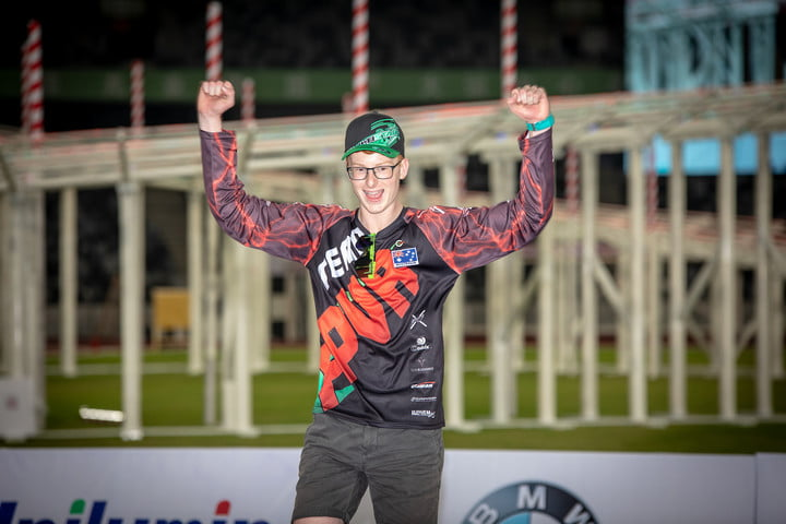 teen bags 24k top prize at world drone racing championships racer winner