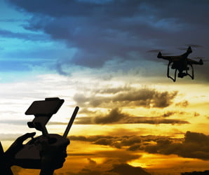 Once again a reported drone has caused a shutdown at a major airport