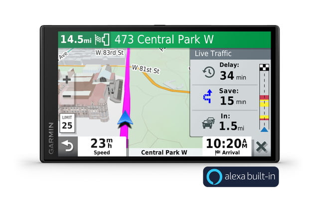Garmin DriveSmart65 Puts Alexa in Your Car and Tells You Where to Go
