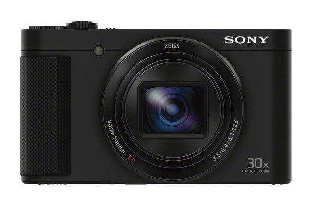sony shows off engineering magic squeezes 30x lens and evf into compact camera dsc hx90v front 1200