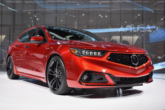 2020 Acura Tlx Pmc Edition Debuts Ahead Of 2020 New York Auto Show