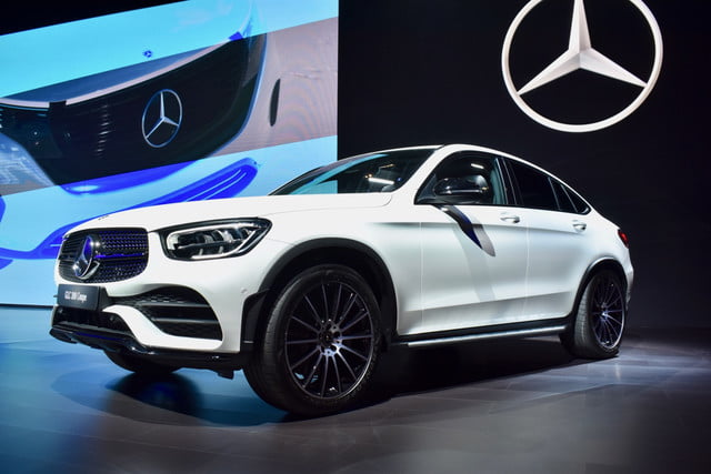 2020 Mercedes-Benz GLC Coupe Shown Ahead of New York Auto ...