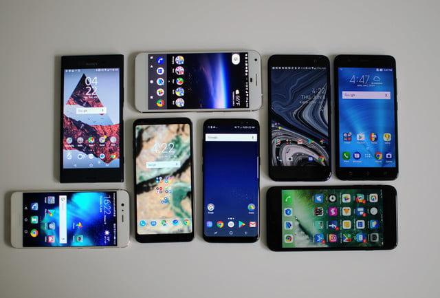 bezel-less phones with highest screen-to-body ratio