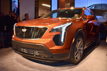 Cadillac shows its vision of urban luxury with the first-ever XT4 crossover