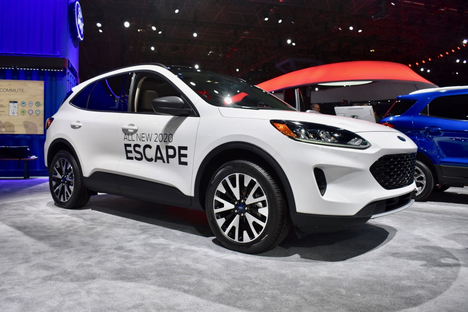 2020 Ford Escape Debuts With Hybrid Plug In Train Options Digital Trends