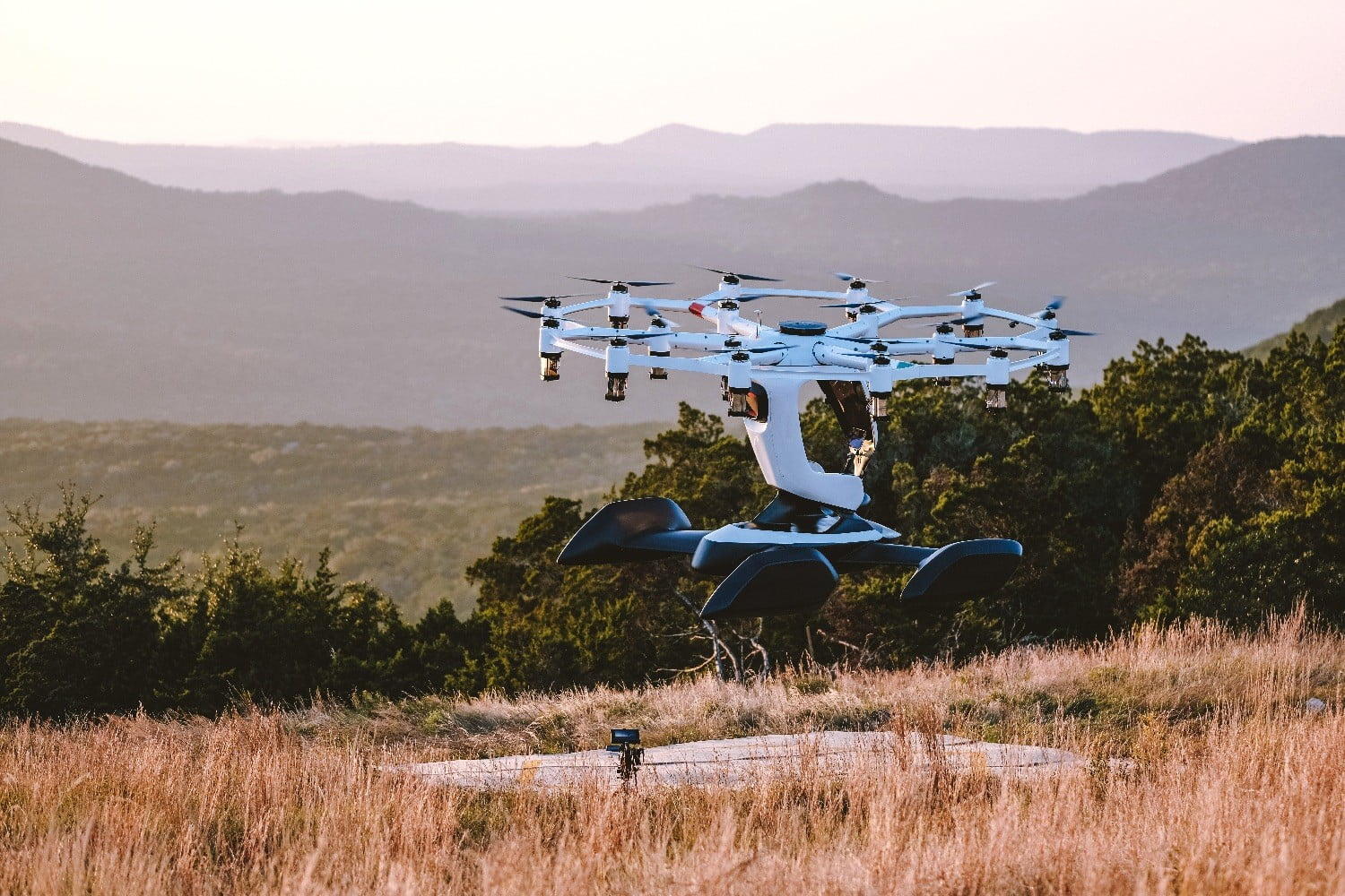 Thrill-seekers will soon be able to pilot themselves in a giant drone