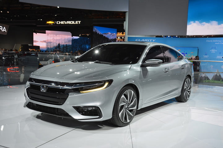 The Honda Insight One Of The Original Hybrids Returns As An - Auto car honda