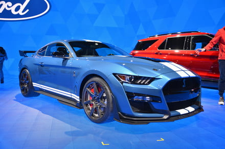 2020 Detroit Auto Show Debuts.2020 Ford Mustang Shelby Gt500 Debuts At 2019 Detroit Auto Show