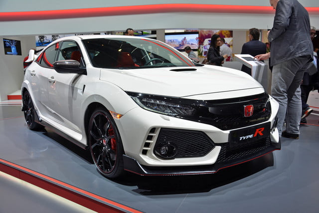 2018 honda civic type r news specs features performance price digital trends. Black Bedroom Furniture Sets. Home Design Ideas