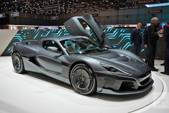 Rimac Concept Two Revealed In Geneva With Almost 2000 Hp