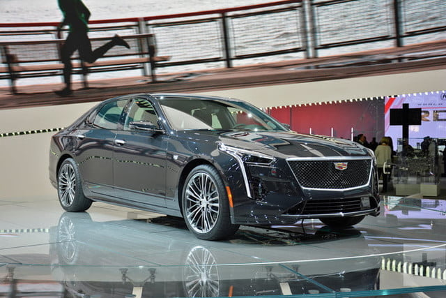2019 Cadillac Ct6 V Sport Gets New Look New V8 Engine Digital Trends