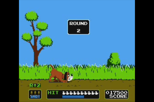 best nes games ever duck hunt screen 2