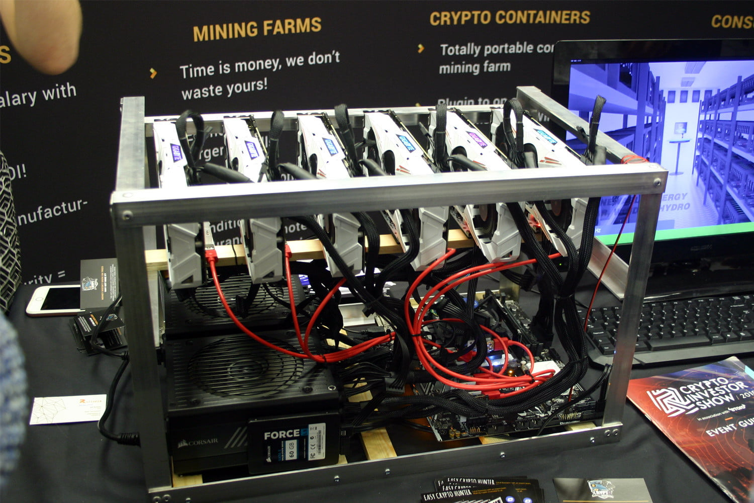 alleged cryptocurrency mining