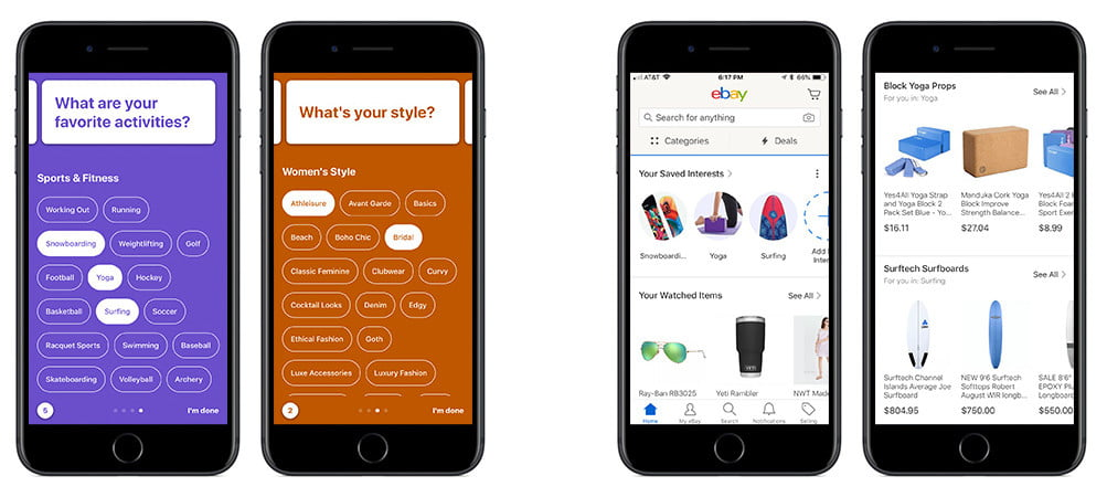 Ebay S New Interests Feature Customizes Your Shopping Experience