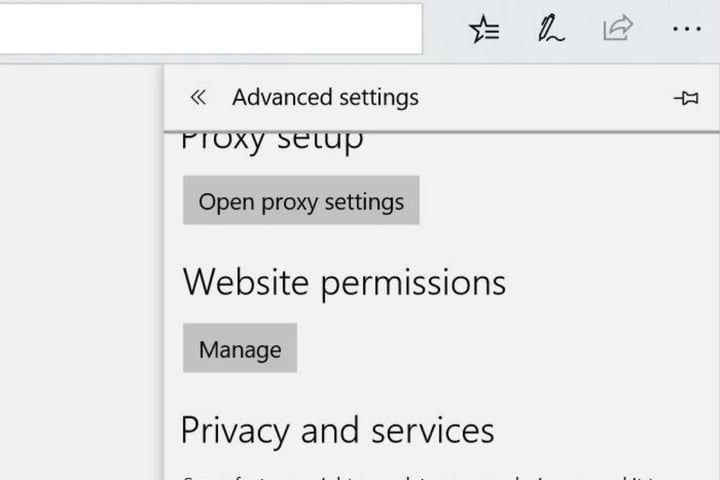 how to disable push notifications in your browser edge