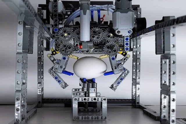Watch A Lego Robot Prepare A Perfect Egg And Bacon Cooked Breakfast