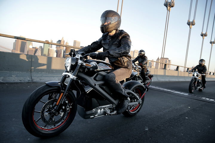 Harley's LiveWire electric motorcycle concept