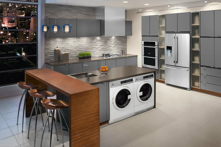 Etonnant Compact Washers And Dryers Are Apartment Dwellers Dreams Electrolux Front  Loading Washer Dryer