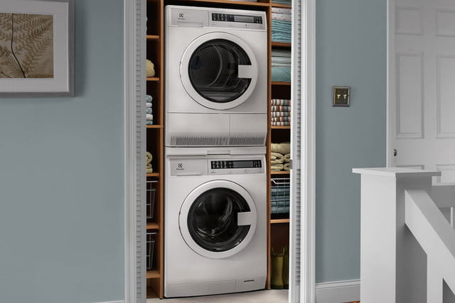 best space saving appliances electrolux compact washer and front load dryer with iq touch