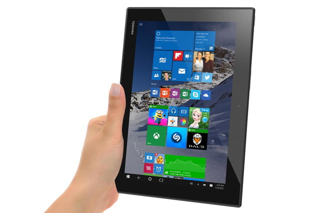 toshiba proves its ready for windows 10 with a selection of new pcs encoretablet 1