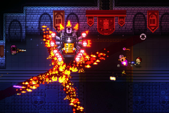 best indie games for the ps4 enter gungeon screen 1