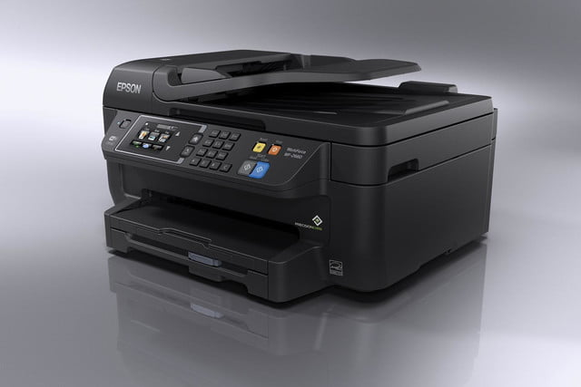 epson lowers price precisioncore inkjet tech new multifunction units workforce wf 2660 left angle
