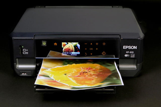 EPSON XP 610 front top