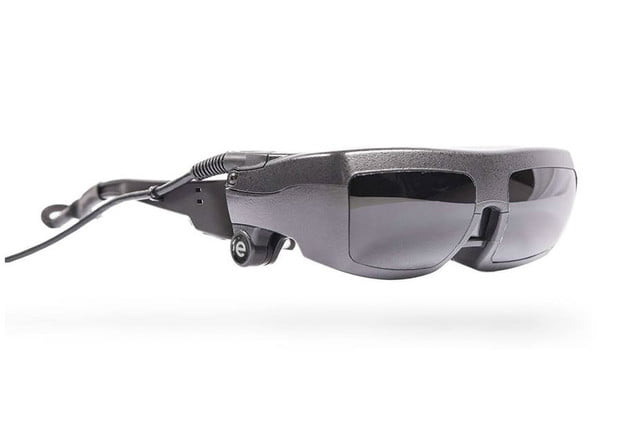 esight electronic glasses let a little blind boy see product