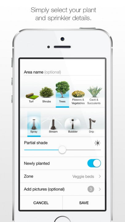 etwaters unity app shows you if are overwatering your lawn etwater 2