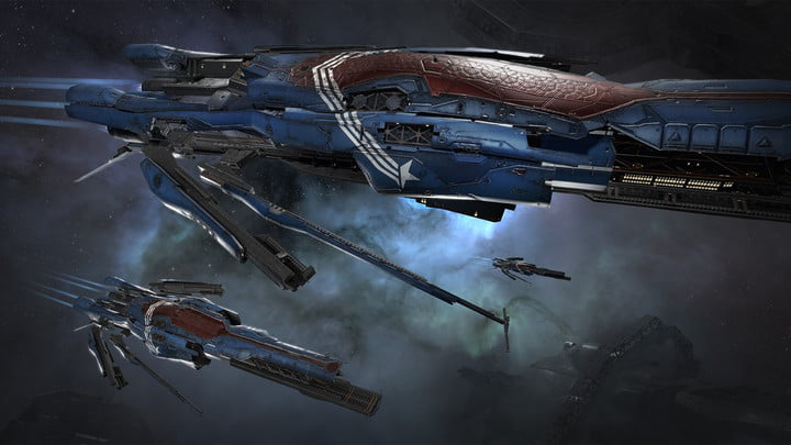 how will free to play players change eve online new ship skin