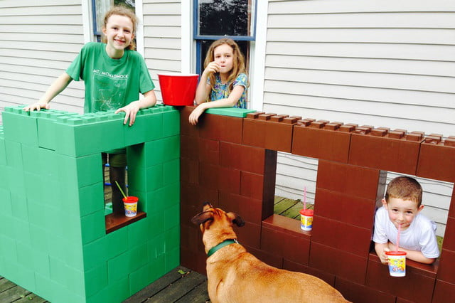 everblock makes life sized legos for furniture building lego playhouse
