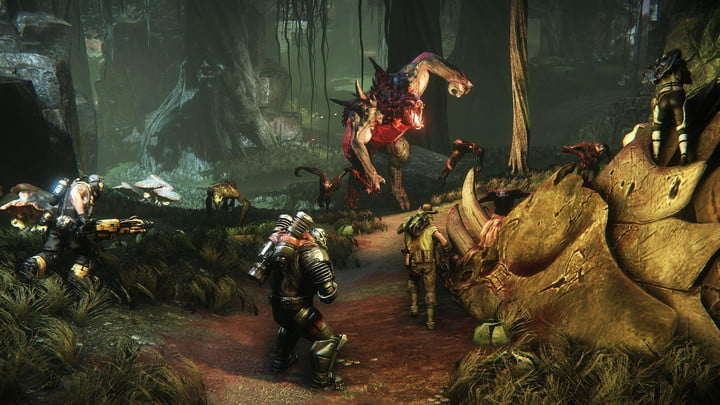 Evolve isn't out until February 2015, but you can play it before then
