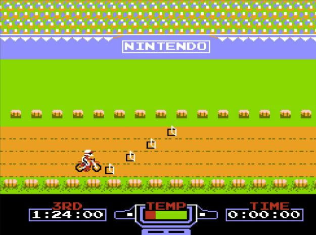 best nes games ever excitebike