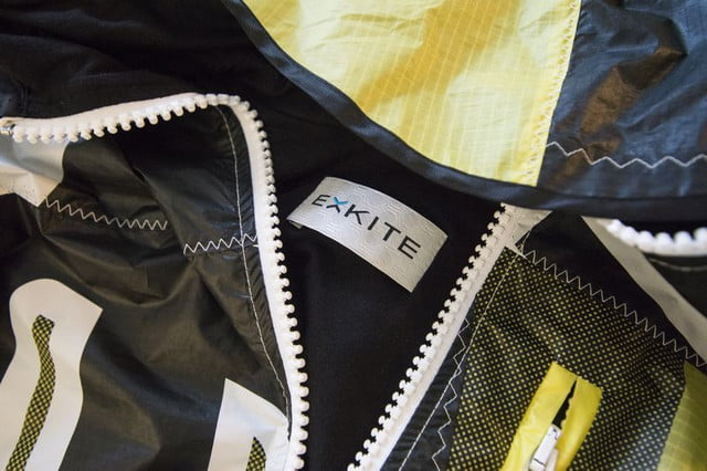 exkite clothing brand uses recycled kites create unique outdoor apparel 1