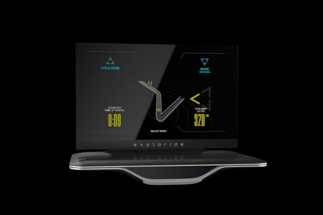 exploride head up display pictures news specs with ui 101