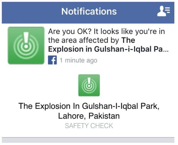 Facebook sorry for Safety Check error after Pakistan ...