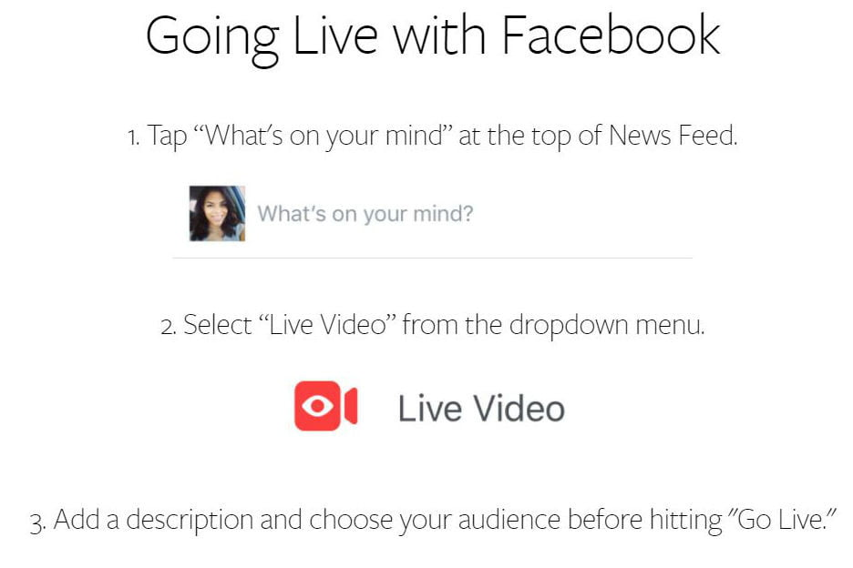 How to Go Live On Facebook With Your Android or iOS Device | Digital