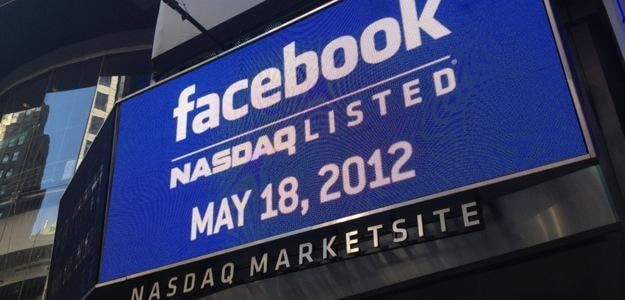 When did facebook ipo launch