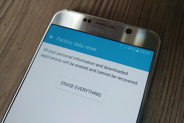 how to delete google account from android phone with factory reset