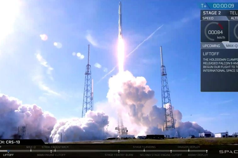 SpaceX Launches Reused Rocket and Capsule in Successful ISS Mission