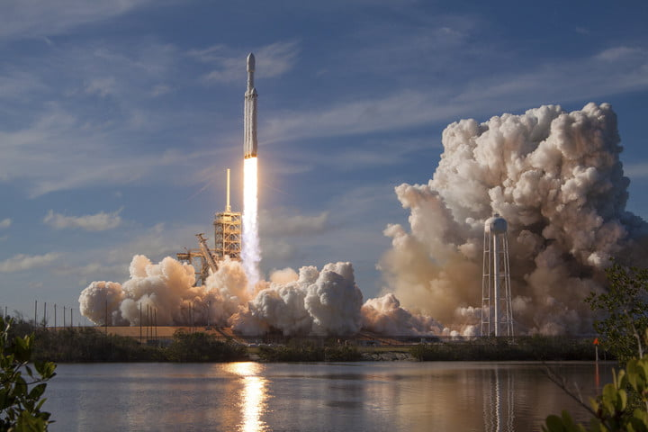 starman last picture falcon heavy test flight spacex flickr 1220
