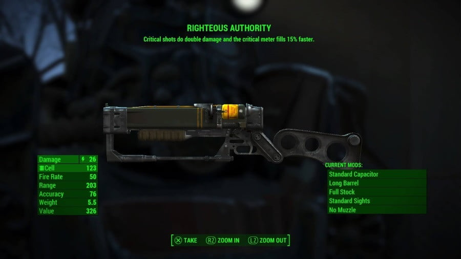 Fallout  Build Energy Weapons