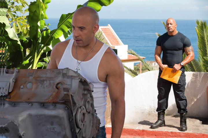 fast furious 6 review vin diesel the rock