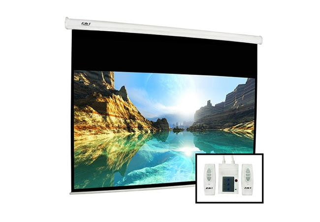 Save 130 on favi 82 electric projector screen digital for 130 inch motorized projector screen